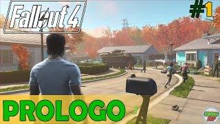 Fallout 4 | PROLOGO |  En PC Español Gameplay sin Comentarios 1080p 60 fps