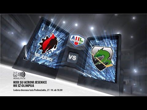 AHL: HDD Sij Acroni Jesenice - HK SŽ Olimpija