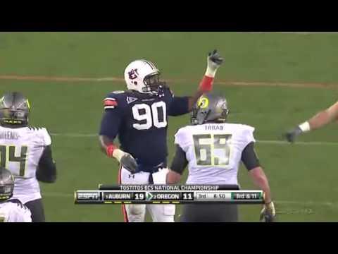 2011 BCS National Championship #2 Oregon vs #1 Auburn ...