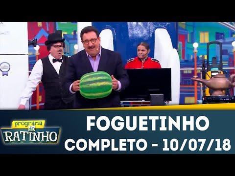 Foguetinho - Completo | Programa do Ratinho (10/07/2018)