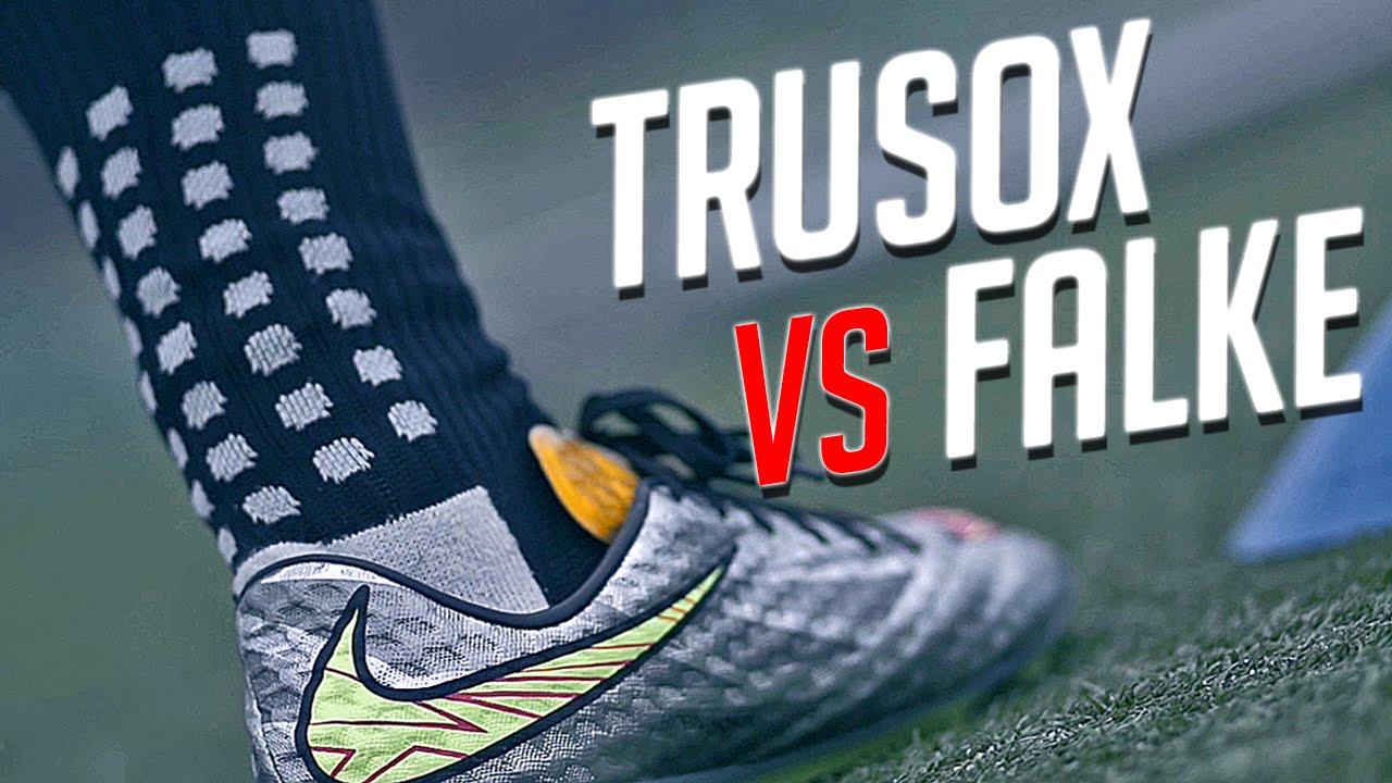 3bdf9bdb9 Trusox vs Falke: Which Football Socks are better? Review by freekickerz -  YouTube
