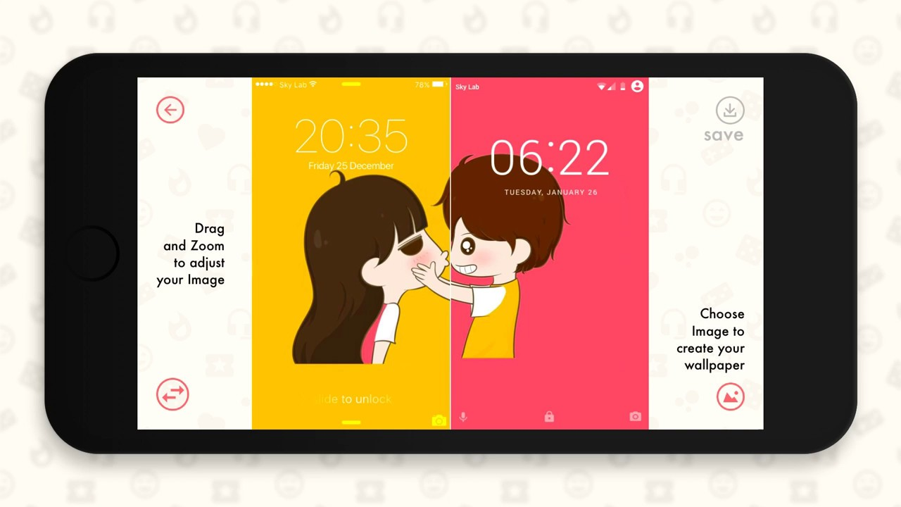 Couple Wallpaper Create Wallpaper For Couple Lock Screen Home Screen For Love