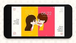 Couple Wallpaper   Create Wallpaper For Couple, Lock Screen, Home Screen For Love
