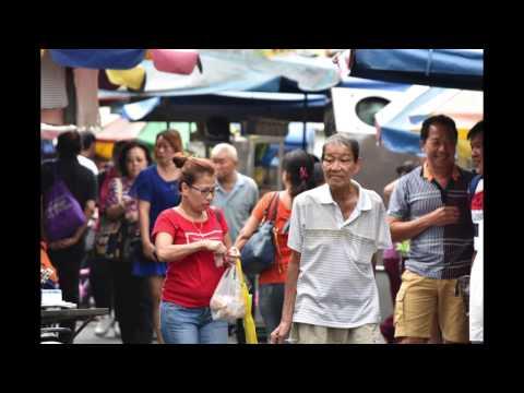 Chowrasta Market, George Town, Penang Malaysia