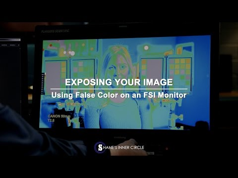 Exposing Your Image Using False Color on a Flanders Scientific Monitor