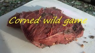 "How To Make A ""corned Beef"" From Venison Or Wild Game (or Beef)"