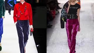 видео Модные брюки осень-зима 2016-2017 года