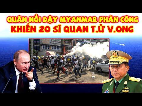 Tin Nóng Thế Giới 24h: Quân Nổi Dậy Myanmar Chiếm Đồn Cảnh Sát Khiến 20 Sĩ Quan T,ử V,onq
