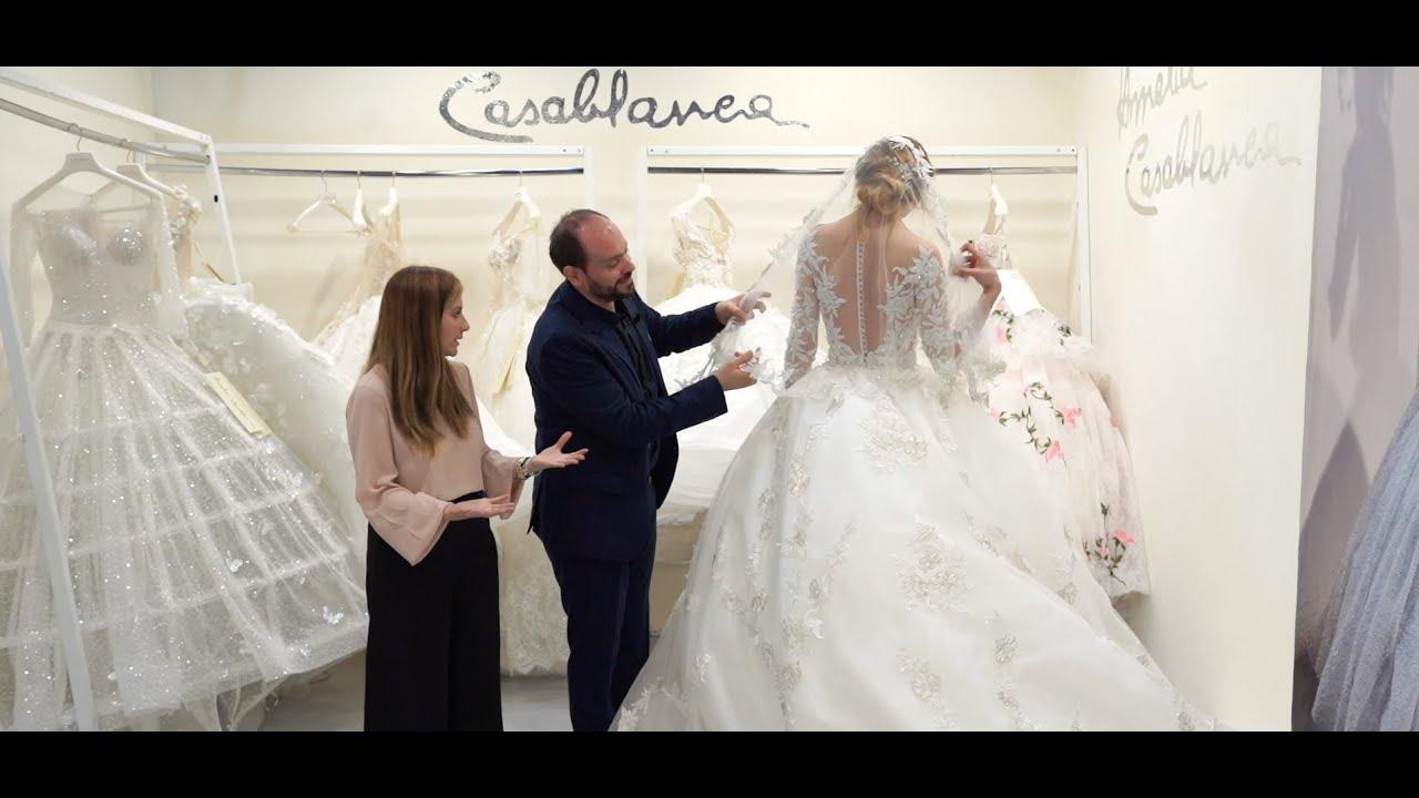 Abiti Da Sposa Nel 700.Abiti Da Sposa Amelia Casablanca 2020 Il Sogno Da Principessa