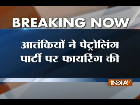 Jammu and Kashmir: Terrorists attack patrolling party in Tral