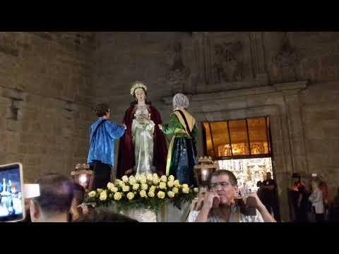 Procesión Virgen De La Saleta - Zamora 2018 - Llegada Iglesia De San Torcuato