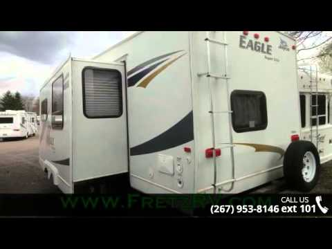 Creative 2017 Jayco Eagle HT 295FBDS Fifth Wheel 70  Irvines Camper Sales In Little