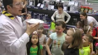 Химическое шоу для детей: Превращение сухого льда в дым, пузыри,... (Ростов-на-Дону)