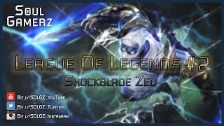 League of Legends Gameplay #2 - Shockblade Zed URF Mode
