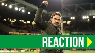 Norwich City 4-3 Millwall: Daniel Farke Reaction