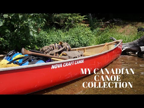 My Canadian Canoe Collection