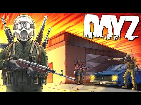 The BATTLE For The BASE! - DayZ (1/3)