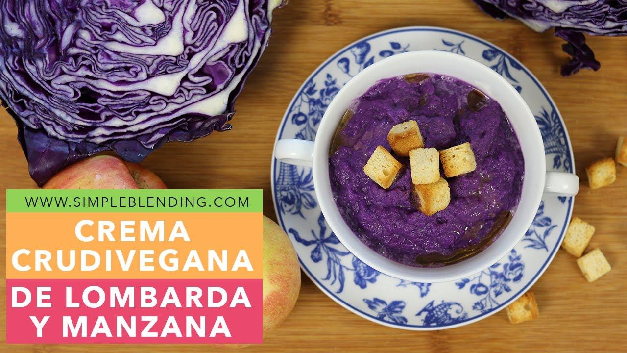 Cocinar Lombarda Con Manzana | Como Hacer Una Crema De Lombarda Con Manzana Receta Facil Y Rapida