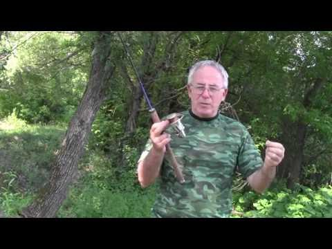 Спиннинг для начинающих, намотка лески на катушку спиннинга