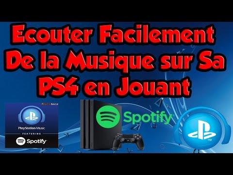 TUTO: Ecouter Facilement De La Musique Sur Sa PS4 En Jouant