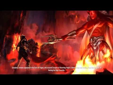 Injustice: Gods Among Us - Scorpion's Ending