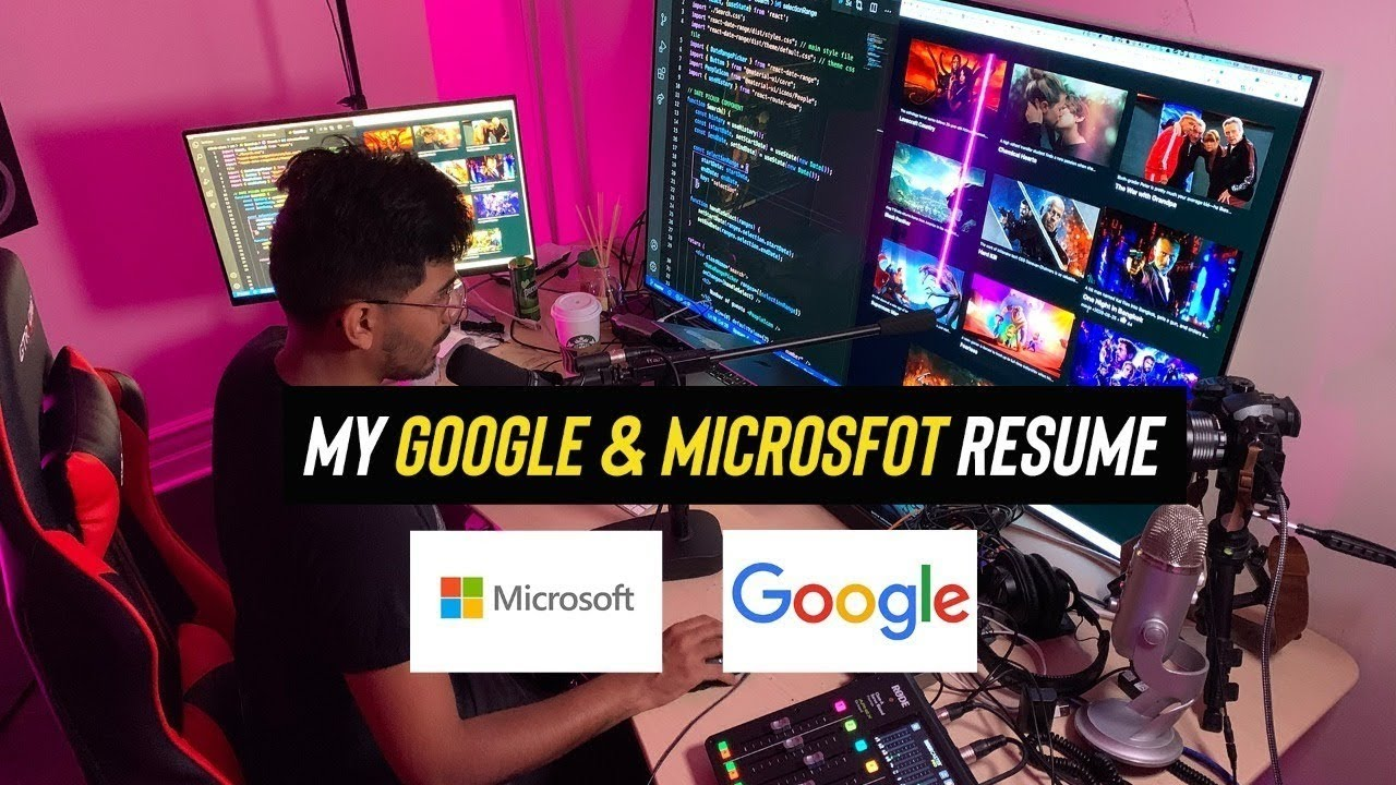 The Resume That Got Me Into Google and Microsoft (Reviewing your Resumes LIVE)