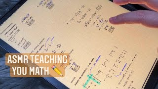 ASMR Teaching you math - Algebra 2 ✏️ | iPad writing sounds, whispering screenshot 4