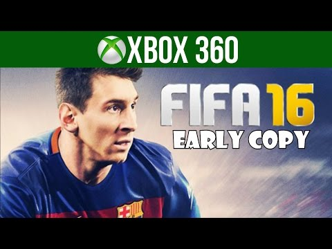FIFA 16 Early Xbox 360 Gameplay And Game Menus! + Giveaway