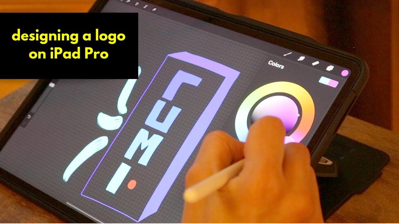 Making a Logo on iPad + The Super Beginner