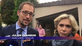 Yvelines | Valérie Pecresse rend visite aux ovillois après les inondations