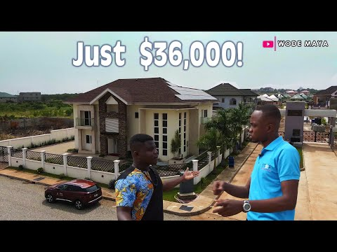 An Unbelievable Super Affordable Home In Ghana!