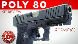 Polymer80 Review Frame Kit to First 200 Rounds Episode 71