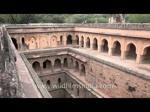 Miraculous source of water - Raja Ki Baoli, Mehrauli