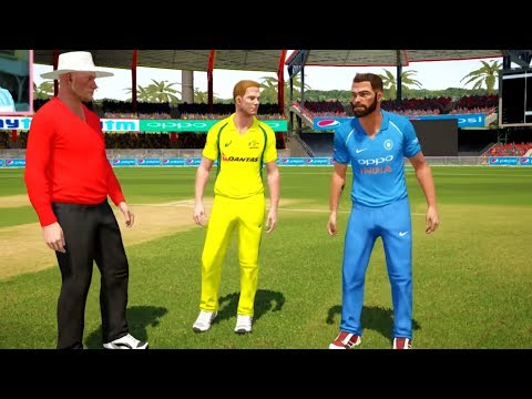 India vs Australia - 4th ODI Match - Don Bradman Cricket 17