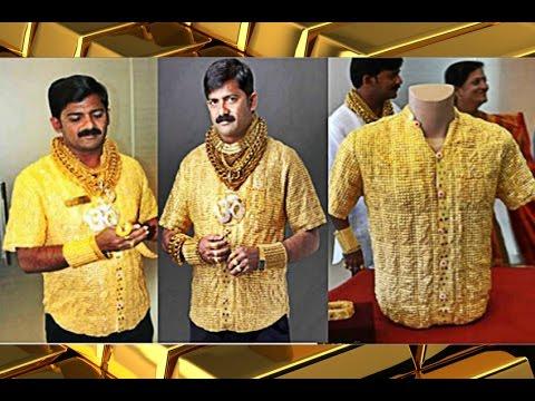 La Camisa De Oro Mas Cara Del Mundo Youtube
