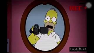 Os Simpsons - Atividade paranormal  Dublado