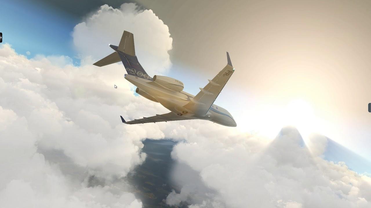 X-Plane 11 with SkyMaxx Pro 4.5 (tropical paradise cloud ...
