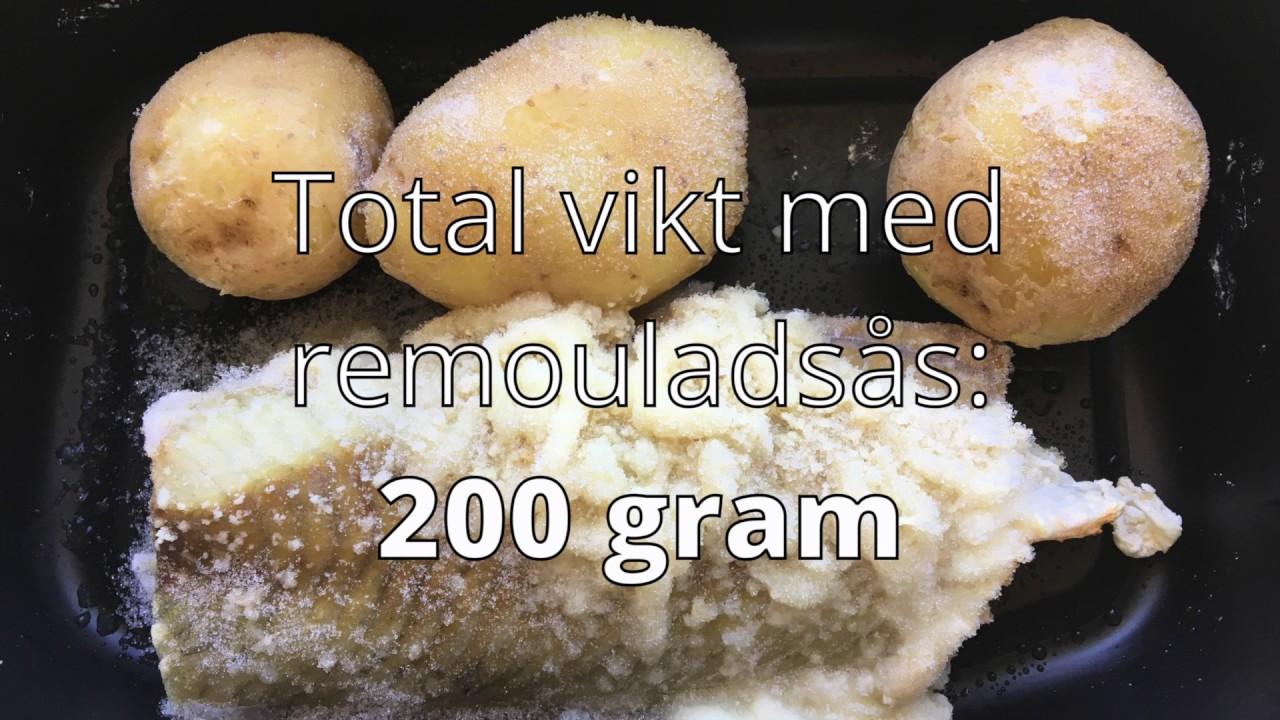 vad väger en normalstor potatis