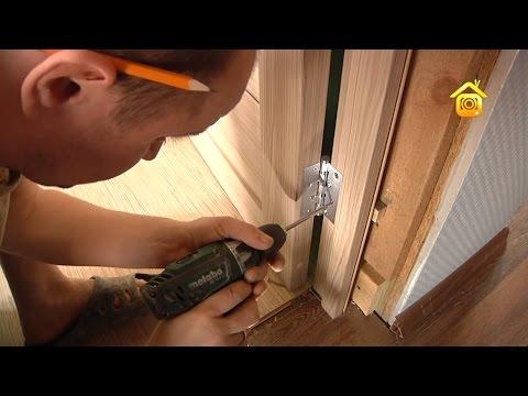 Видео Установка межкомнатных дверей инструкция фото