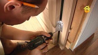 видео Возведение сруба: особенности монтажа дверей и окон