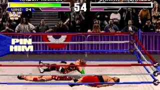 WWF - Wrestlemania The arcade Game   GET REAL difficulty