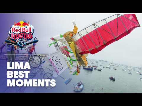 Home Made Flying Machines - Red Bull Flugtag - Lima 2011