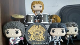 Bohemian rhapsody dvd and soundtrack. Funko pop Queen unboxing.