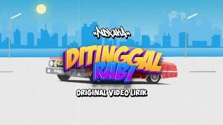 Gambar cover Terbaru NDX A.K.A Ft.PJR - DITINGGAL RABI Video Lirik 2016