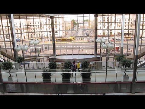 Minsk. Train Station.  Минск.  Железнодорожный вокзал.  (2019)