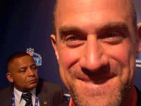 Christopher Meloni Of Law And Order Special Victims Unit At NFL Draft