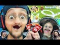 AQUAPARK.IO Challenge 🎮 FGTEEV Lex 🆚 Duddy (Hot Sauce Loser)