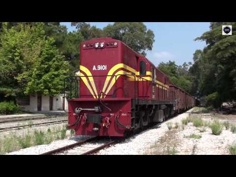 The Biggest Freight Metric-train ALCo 9101 & 9105 (Korinth-Tripolis) Greece-2012