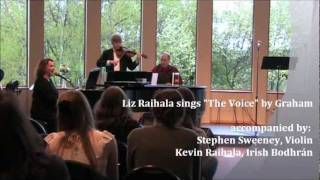 Liz Raihala sings The Voice