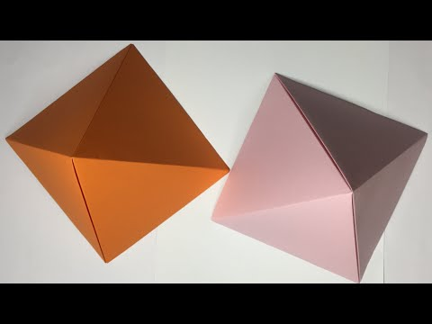 Origami Paper Pyramid | Paper Pyramid Easy Tutorial | DIY-Beauty Of Paper